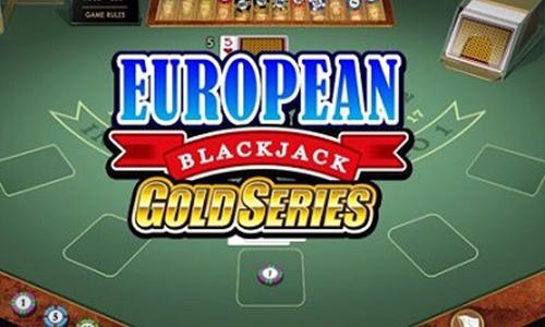 Игровой автомат European Blackjack Gold
